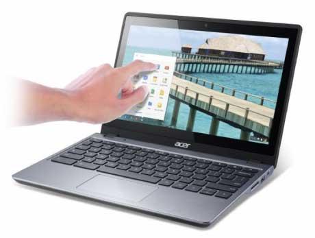 தொடுதிரைத் தொழில்நுட்பத்துடன் அறிமுகமாகும் Acer C720 Chromebook