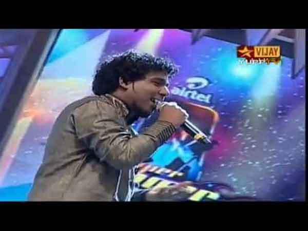 விஜய் ரீவி சுப்பர் சிங்கர் 4 வெற்றியாளர் திவாகர் பாடிய பாடல்