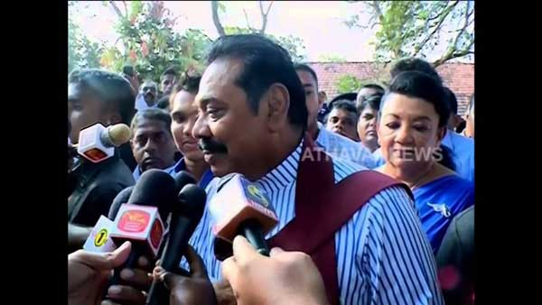 After won the election we will work for children – Mahinda Rajapaksa