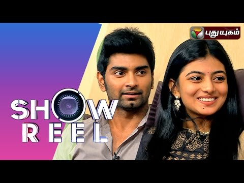 Actor Atharvaa & Actress Anandhi in Showreel 09-08-2015 | Puthuyugam Tv