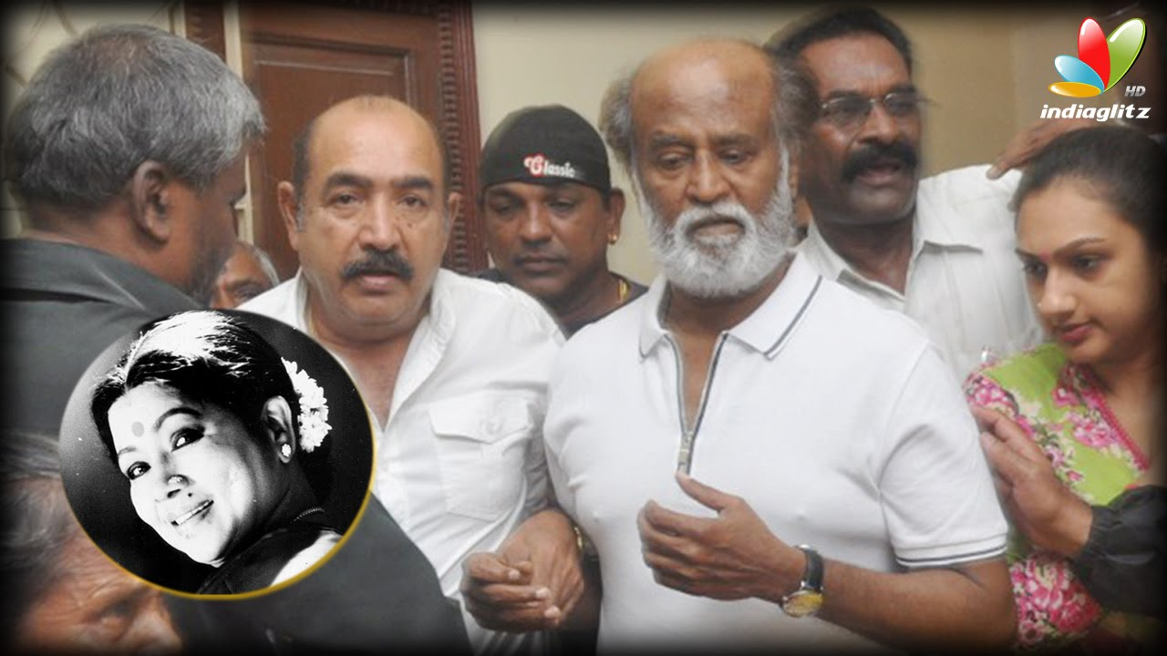 Manorama treated both film and drama artistes as equal : Rajini, Parthiban | Aachi Death
