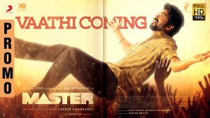 Master – Vaathi Coming Video Song Promo