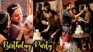 Read more about the article Arjun தன் மகள் Aishwarya-வுக்கு கொடுத்த Midnight Surprise Birthday Party
