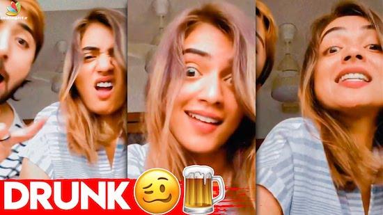 Viral: குடி ஆட்டம் போட்ட Nazriya | Drunk Im Irukali, Kerala Song
