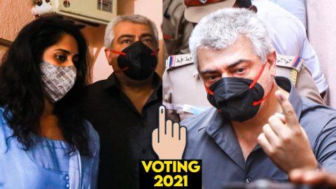 Read more about the article மனைவியுடன் வந்து வாக்களித்த நடிகர் Ajith | Shalini Voting