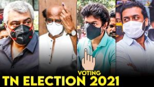 TN Assembly Elections 2021 – Kollywood Celebrities Cast Votes