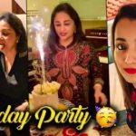 Trisha Mom's Midnight Birthday Party | Uma Krishnan,Cakes